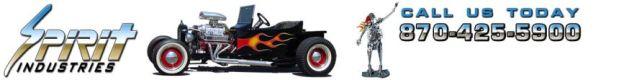 Mini T bucket Go Kart Fiberglass Body - Spirit Cars